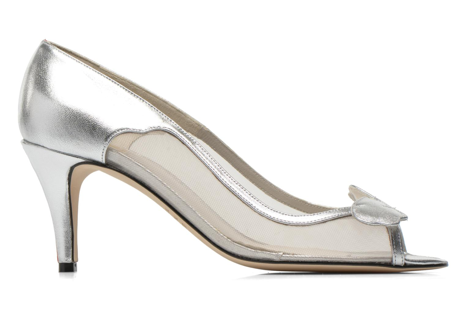 High heels Fred Marzo Maguy Silver back view