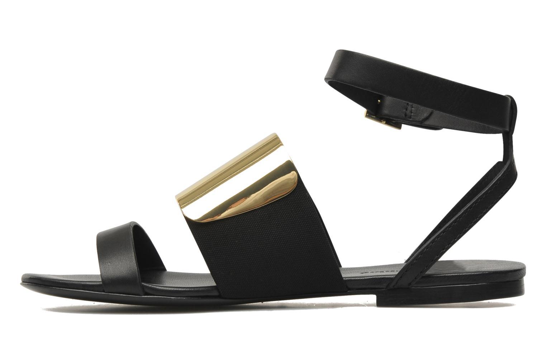 Sandales et nu-pieds See by Chloé June Noir vue face
