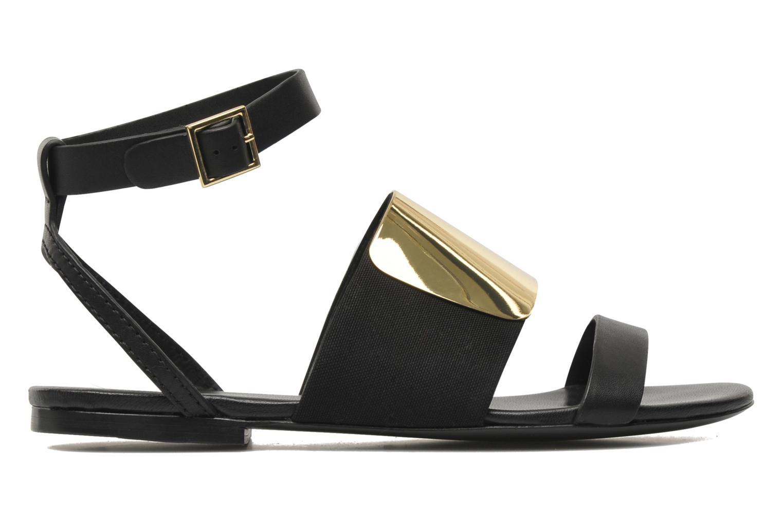Sandales et nu-pieds See by Chloé June Noir vue derrière