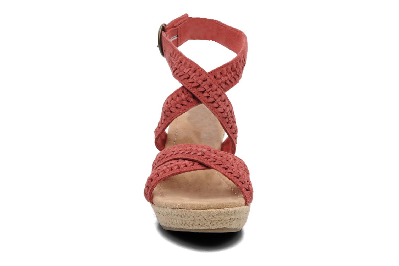 Sandaler Minnetonka Haley Röd bild av skorna på
