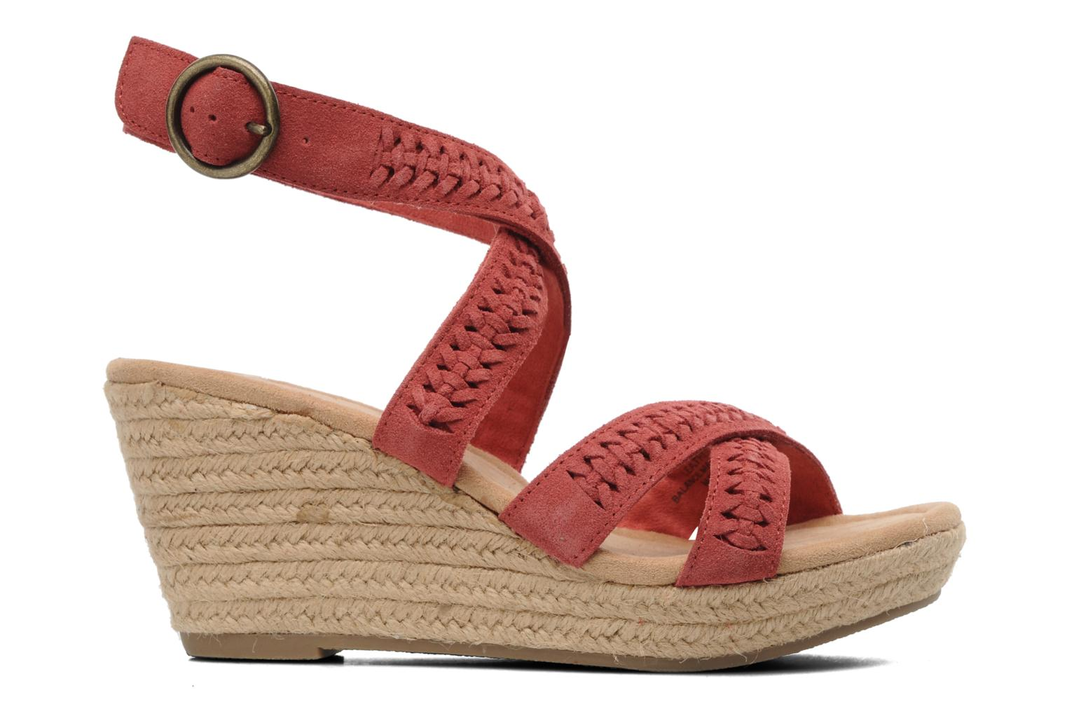 Sandals Minnetonka Haley Red back view