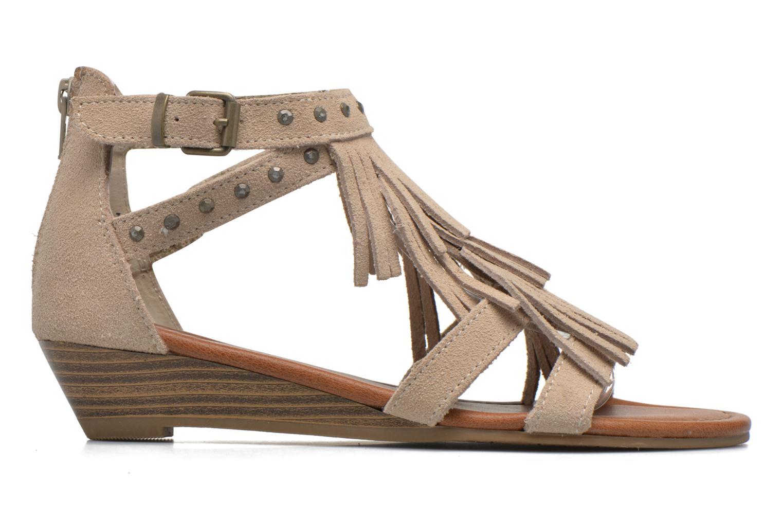 Sandales et nu-pieds Minnetonka Monaco Beige vue derrière