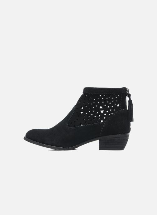 Ankle boots Minnetonka Cutout Boot Black front view