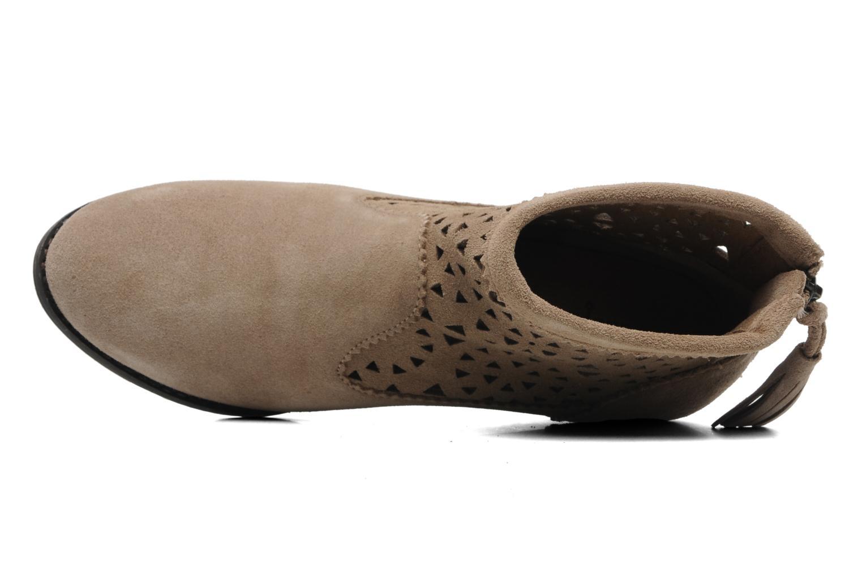 Stiefeletten & Boots Minnetonka Cutout Boot beige ansicht von links
