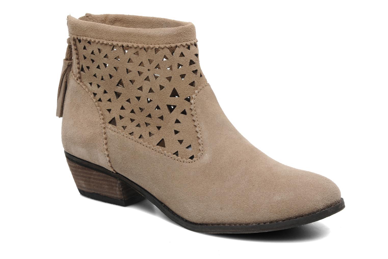 Stiefeletten & Boots Minnetonka Cutout Boot beige detaillierte ansicht/modell
