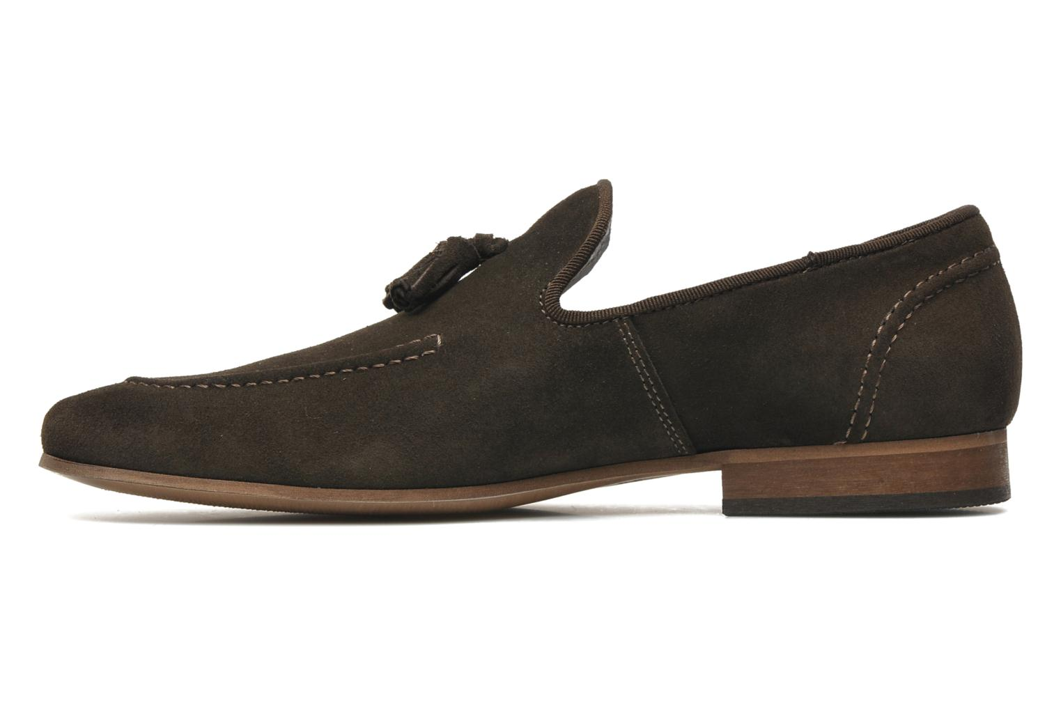 Loafers Marvin&co Nicapone Brown front view