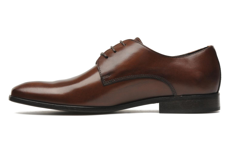 Chaussures à lacets Marvin&Co Nicovée Marron vue face