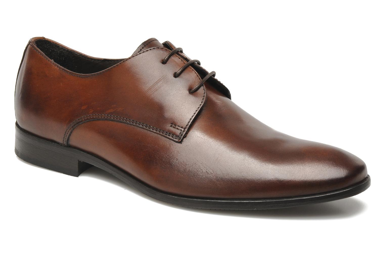 Chaussures à lacets Marvin&Co Nicovée Marron vue détail/paire