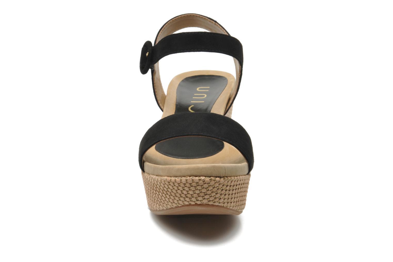 Sandals Unisa Kito Black model view