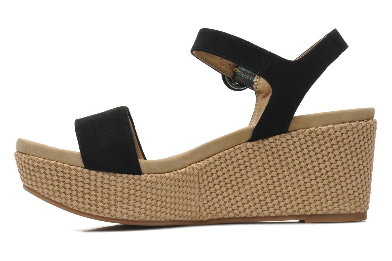 Sandals Unisa Kito Black front view