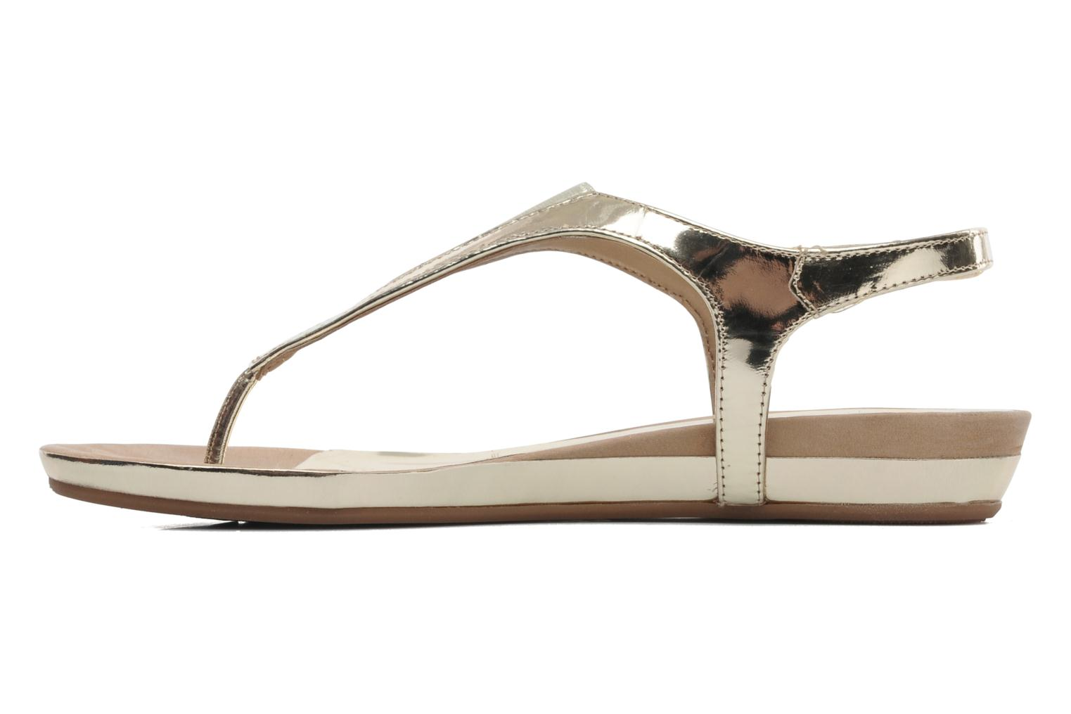 Sandals Unisa Abira Bronze and Gold front view