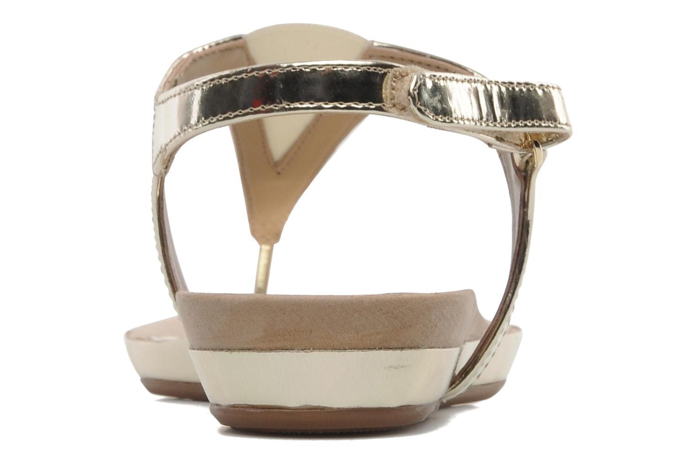 Sandaler Unisa Abira Guld og bronze Se fra højre