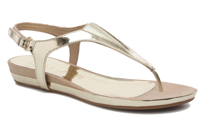 Sandaler Unisa Abira Guld og bronze detaljeret billede af skoene