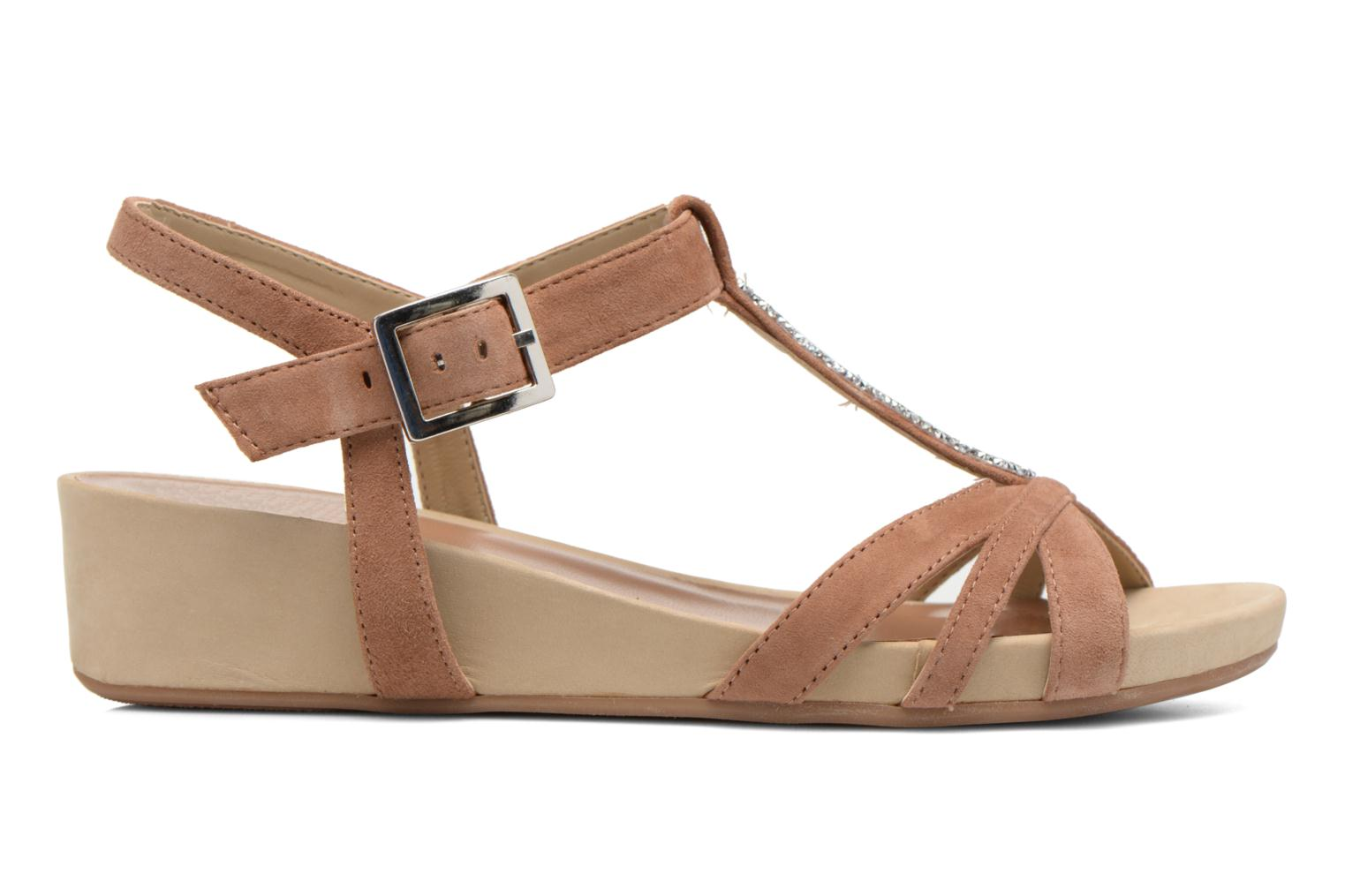 Sandals Unisa Boili Brown back view