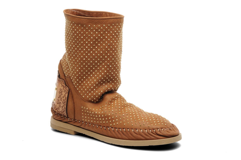 Ankelstøvler Karma of Charme Diamonds Gold Brun detaljeret billede af skoene