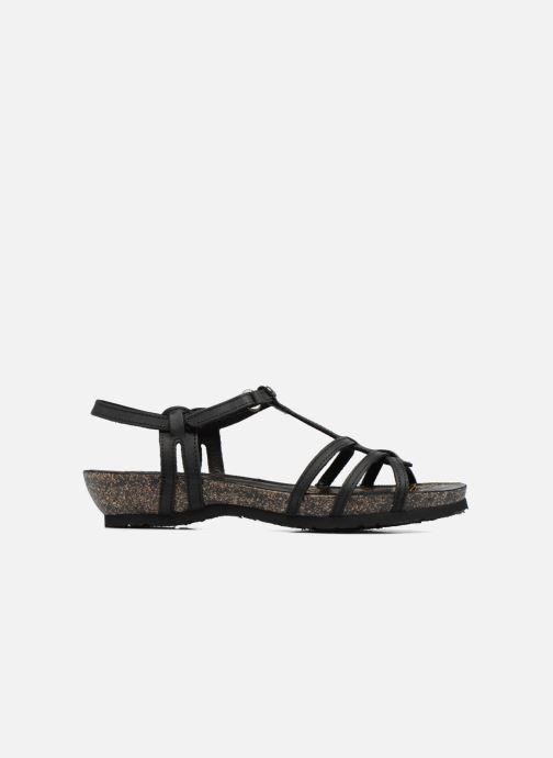 Sandales et nu-pieds Panama Jack Dori Noir vue derrière