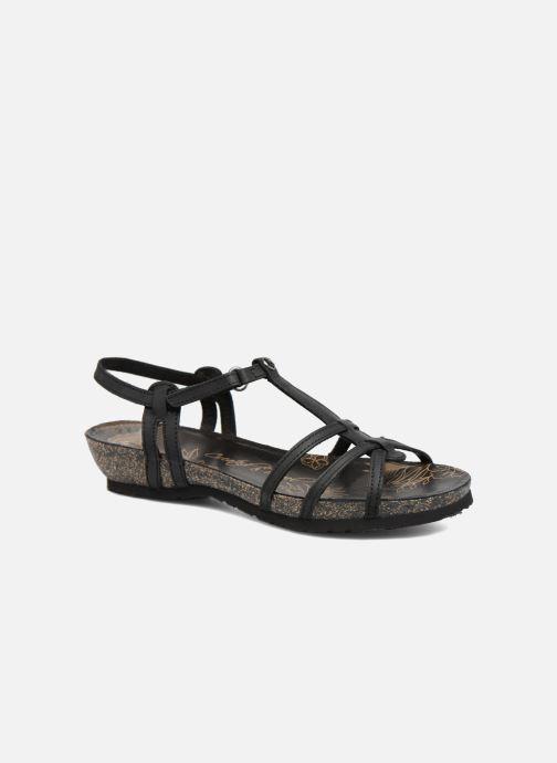 Sandales et nu-pieds Panama Jack Dori Noir vue détail/paire