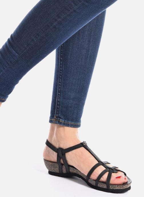 Sandales et nu-pieds Panama Jack Dori Blanc vue bas / vue portée sac