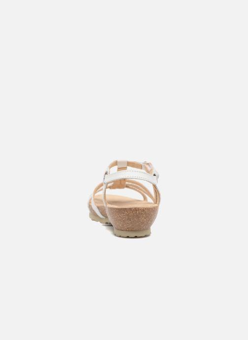 Sandales et nu-pieds Panama Jack Dori Blanc vue droite