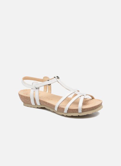 Sandales et nu-pieds Panama Jack Dori Blanc vue détail/paire