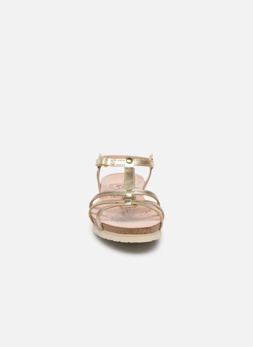 Sandalen Panama Jack Dori Goud en brons model