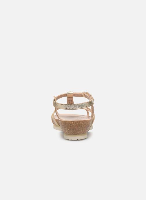 Sandalen Panama Jack Dori Goud en brons rechts
