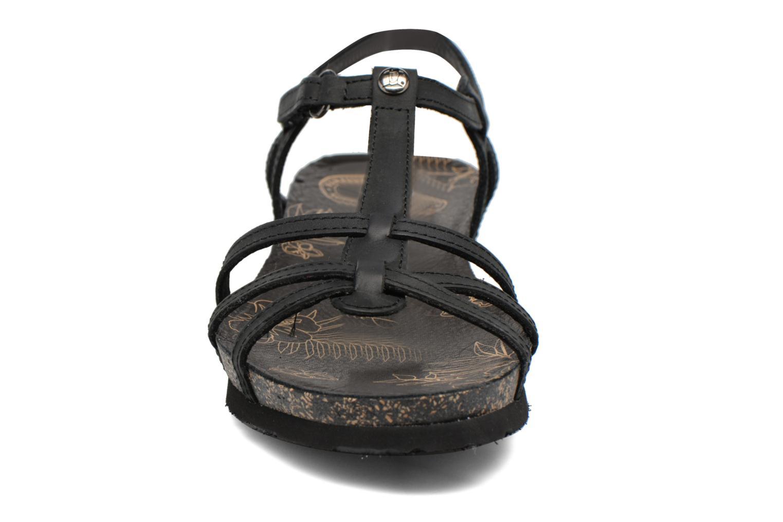 Sandalias Panama Jack Dori Negro vista del modelo
