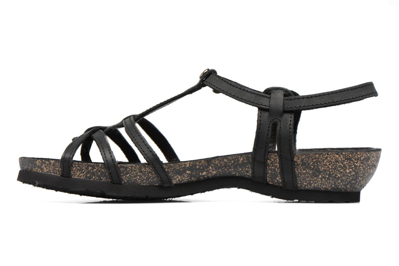 Sandals Panama Jack Dori Black front view