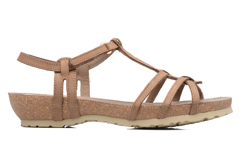 Sandalen Panama Jack Dori Bruin achterkant
