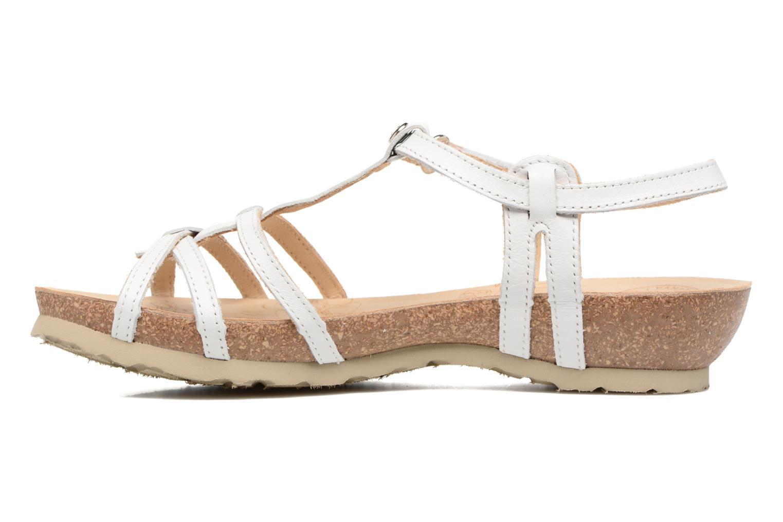 Sandales et nu-pieds Panama Jack Dori Blanc vue face