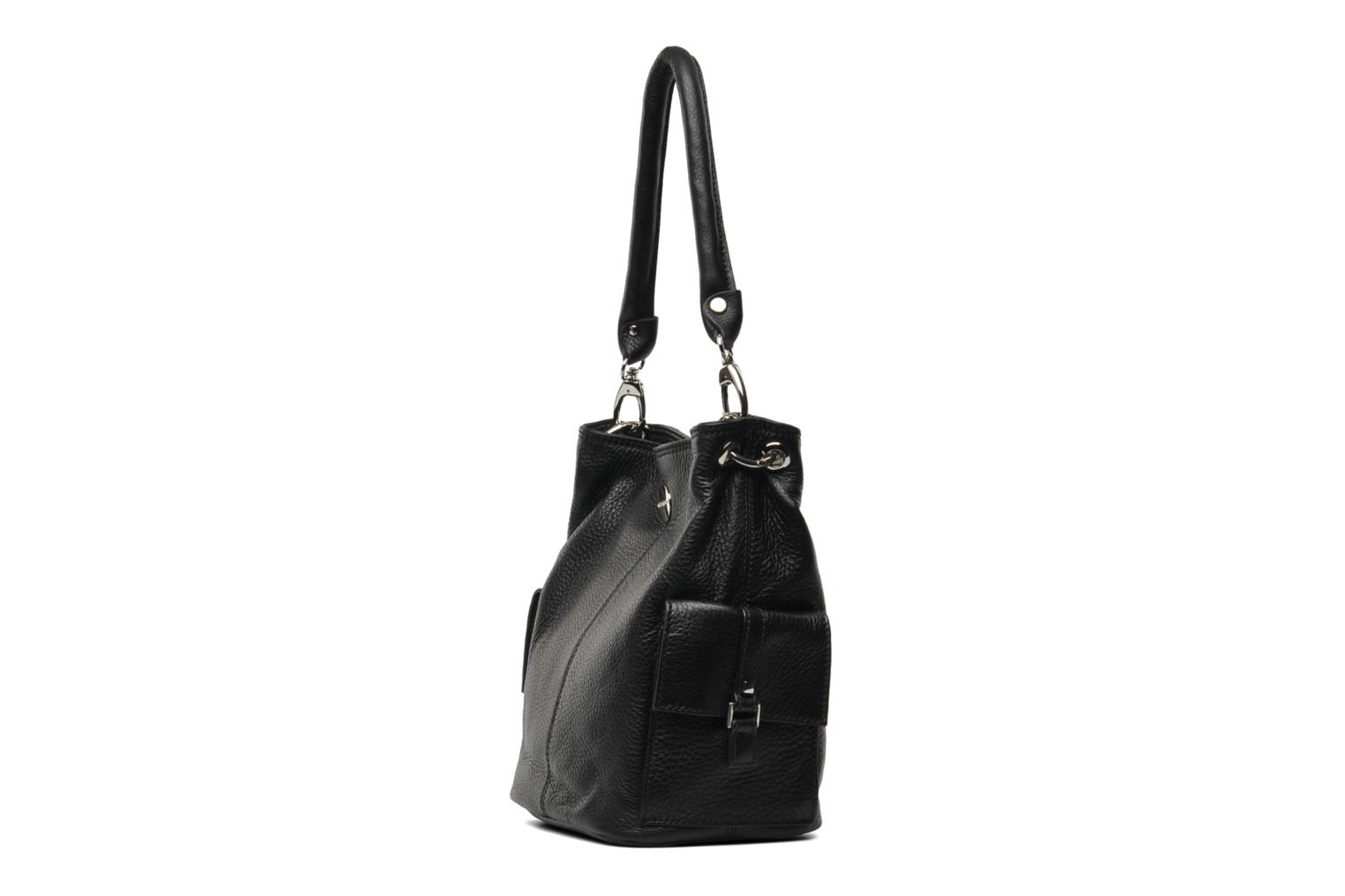 Handbags Mac Douglas VESUVIO Megalo S Black model view