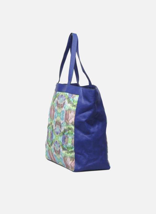 Bolsos de mano Mohekann Gimmick Azul vista del modelo