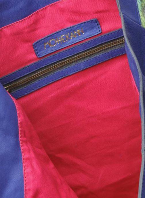 Handtassen Mohekann Gimmick Blauw achterkant