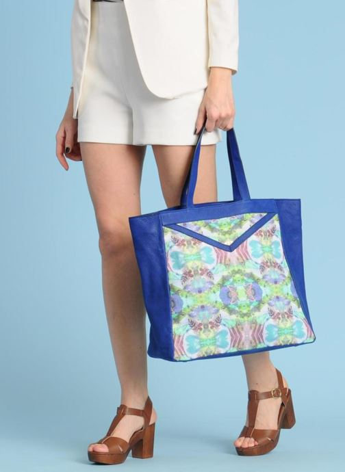 Handbags Mohekann Gimmick Blue view from underneath / model view