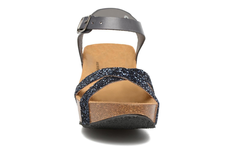 Sandales et nu-pieds Plakton So fine Bleu vue portées chaussures
