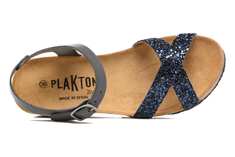Sandales et nu-pieds Plakton So fine Bleu vue gauche