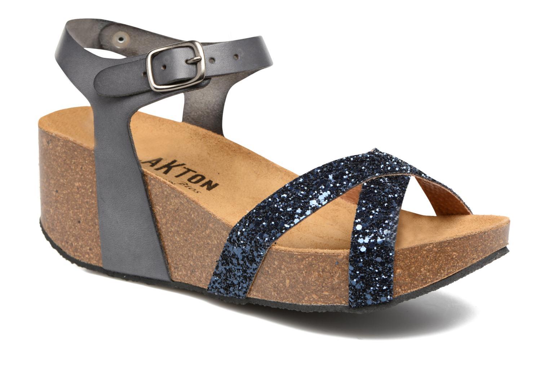 Sandales et nu-pieds Plakton So fine Bleu vue détail/paire