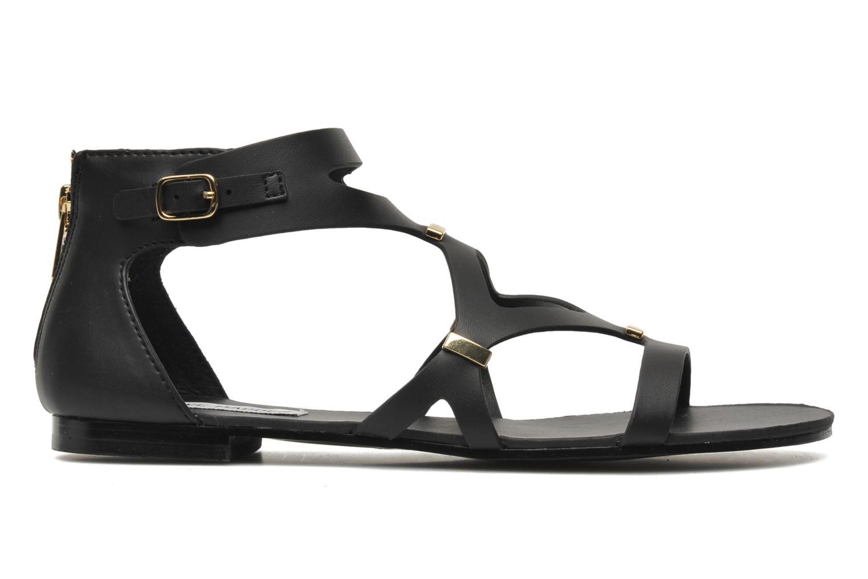 Sandales et nu-pieds Steve Madden COMMA Noir vue derrière