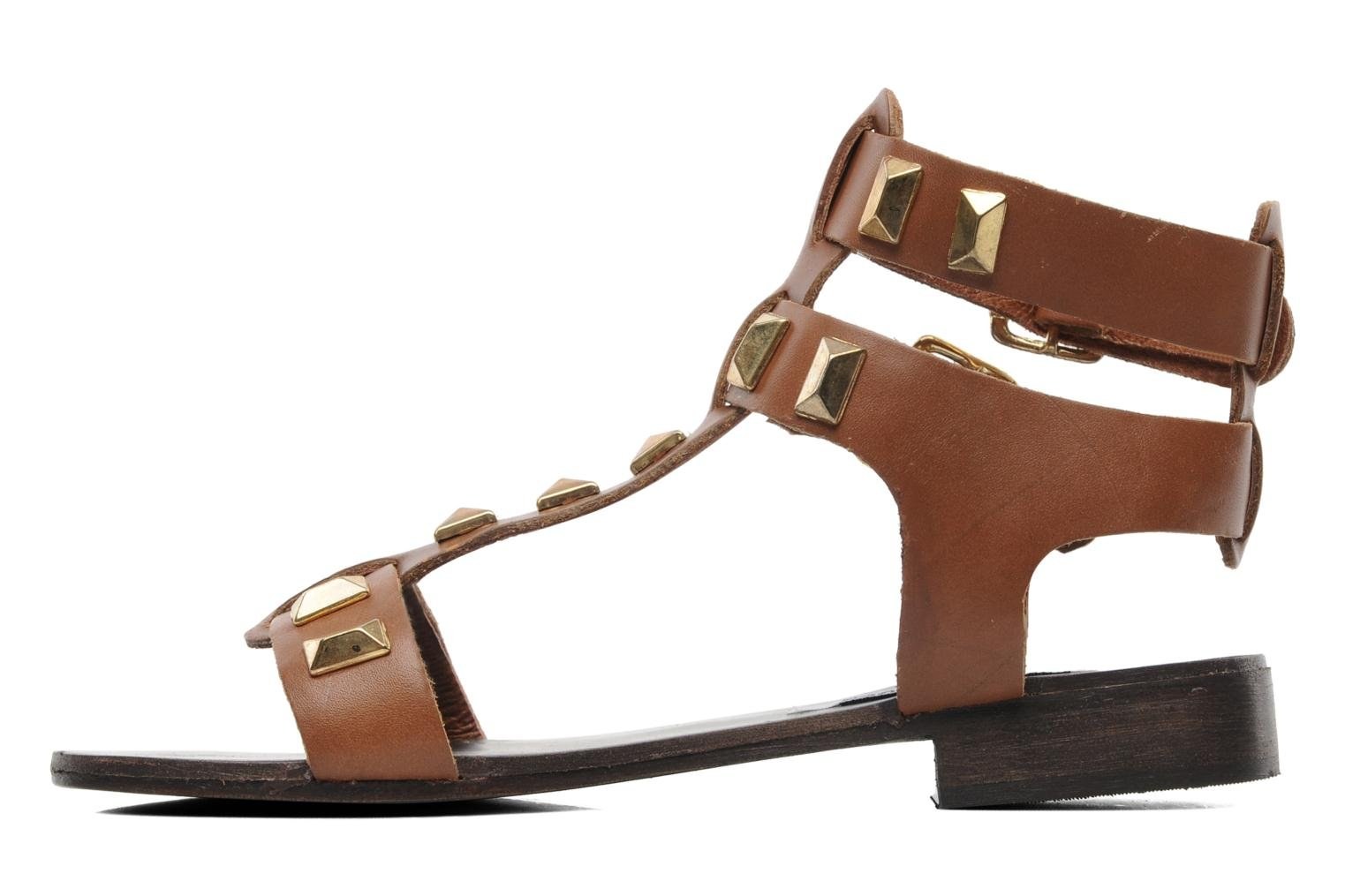 Sandals Steve Madden PERFECK Brown front view