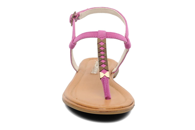 Sandals Buffalo Bawa Pink model view