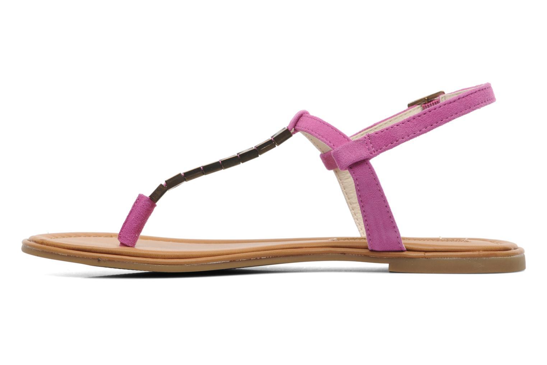 Sandals Buffalo Bawa Pink front view