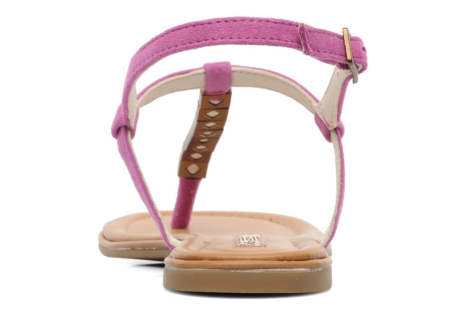 Sandals Buffalo Bawa Pink view from the right