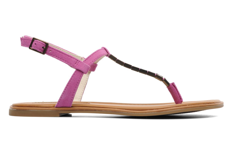 Sandals Buffalo Bawa Pink back view
