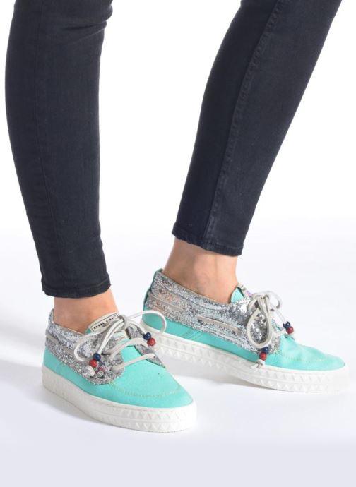 Chaussures à lacets Dolfie Dylan W Vert vue bas / vue portée sac