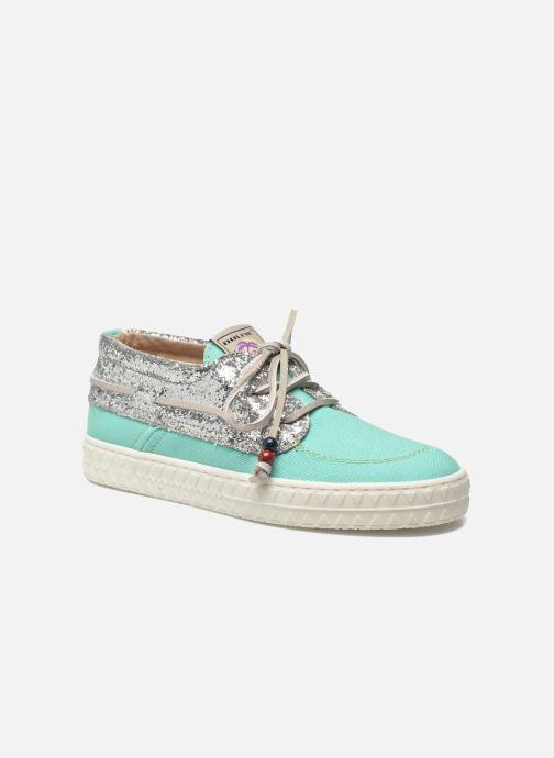 Chaussures à lacets Dolfie Dylan W Vert vue détail/paire