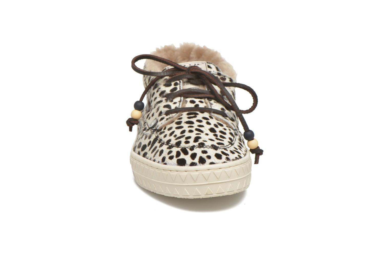 Snörade skor Dolfie Dylan W Beige bild av skorna på