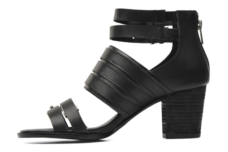 Sandales et nu-pieds Shellys London VALVORI Noir vue face