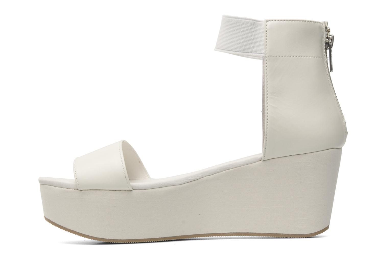Sandales et nu-pieds Shellys London MAGNI Blanc vue face