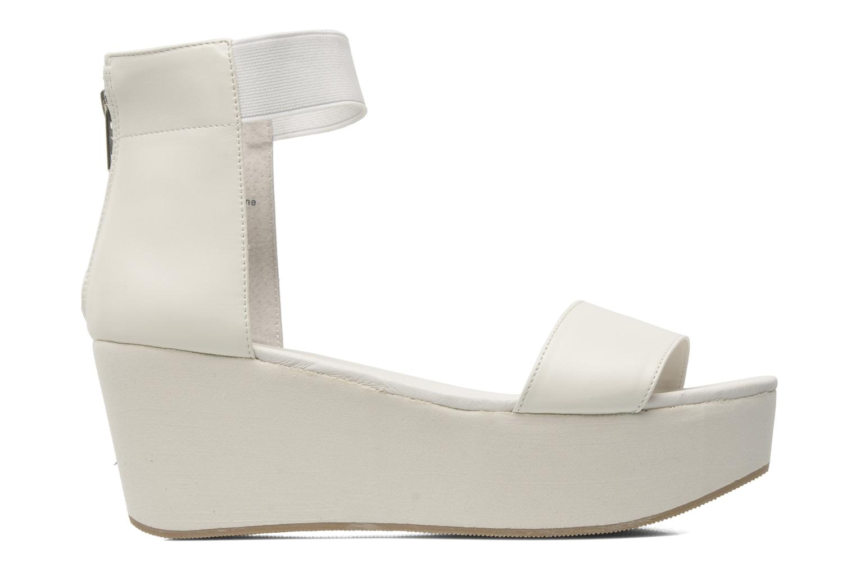 Sandales et nu-pieds Shellys London MAGNI Blanc vue derrière
