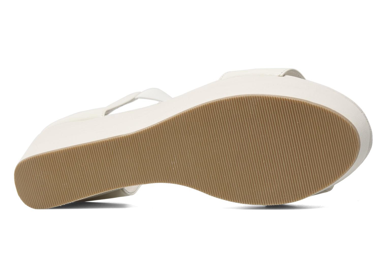 Sandales et nu-pieds Shellys London MAGNI Blanc vue haut